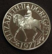 1977 Queens Jubilee Coin