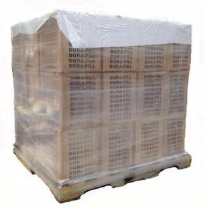 DIRECT FIRE HOT POUR RUBBERIZED CRACK FILLER 50 LB BOXES IN STOCK FULL PALLET QUANTITIES OR SINGLE PUCKS BLOCKS BRICKS