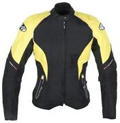 Black and Yellow Motorcycle Jacket