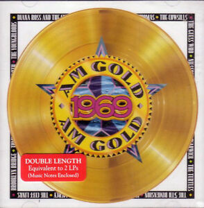 AM GOLD 1969 DOUBLE LENGTH CD PLUS BRAND NEW FACTORY WRAPPED CD London Ontario image 1