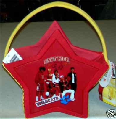 High School Musical Halloween Easter Basket Trick Or Treat Xmas Gift Zac