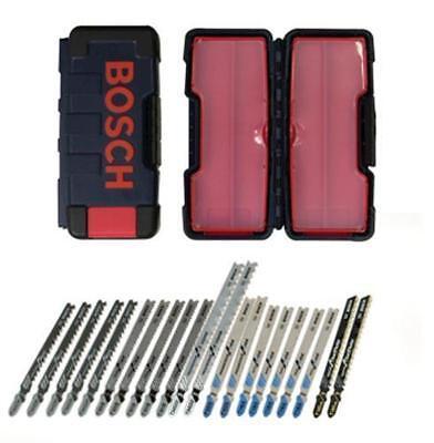 Bosch 21-Pc T-Shank Contractor Jig Saw Blade Set Carbide Tipped Blade TC21HC  Carbide Tipped Jigsaw Blades