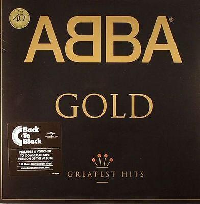 "ABBA - Gold -  Greatest Hits 40th Anniversary - Vinyl 2 x 12"" LP / New + mp3"