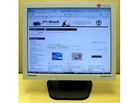 "17"" / 17 Inch Computer Monitor - LCD Slimline FlatScreen - PC / MAC / Linux / MacOS / Mac OS"