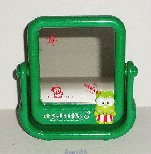 "VINTAGE! 1989 Sanrio KEROPPI ""Swinging"" Mirror from JAPAN! Very RARE!"
