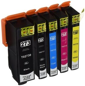 Epson 273XL High Yield Compatible Ink Cartridge (Each Color)