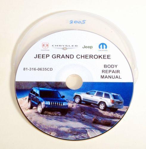 Jeep Grand Cherokee Repair Manual Ebay
