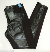 River Island Leather Trousers