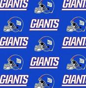 New York Giants Fabric
