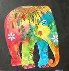 Elephant Canvas Multicoloured Art