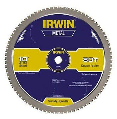 Irwin Tools Metal-cutting Circular Saw Blade 10-inch 80t 4935561