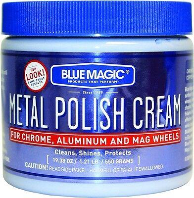 BLUE MAGIC 500-6 Metal Polish Cream Tub 19.38 oz