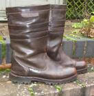Mens Leather Country Boots