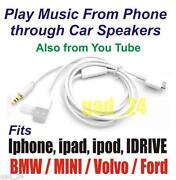 BMW iPod Y Cable