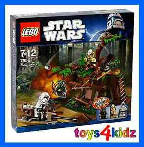 LEGO® STAR WARS™  7956 Ewok™ Attack * NEU / OVP *
