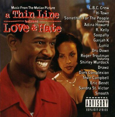 Thin Line Between Love and Hate [PA] by Original Soundtrack (CD,