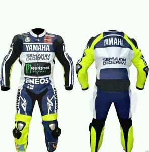Yamaha Eneos Motorbike, Motorcycle Leather suit with Protections