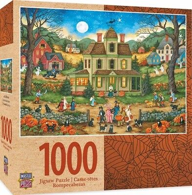 Masterpieces Halloween - Lucky Thirteen 1000pc Pu Video Game](Halloween Games Pc)