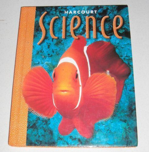 What science material does Harcourt School offer online?