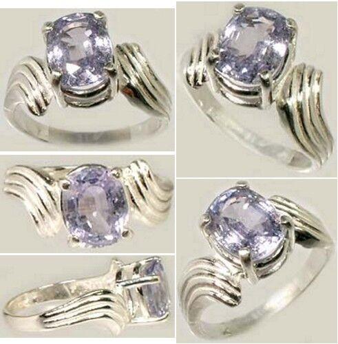 Purple Sapphire Ring 2¾ct Antique 19thC Medieval Ecclesiastic Heaven Pope Gem