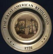 The Great American Revolution Plate