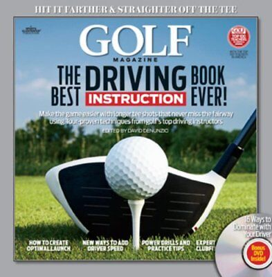 GOLF The Best Driving Instruction Book Ever! (Golf Magazine) by Editors of (Best Driving Instruction Books)