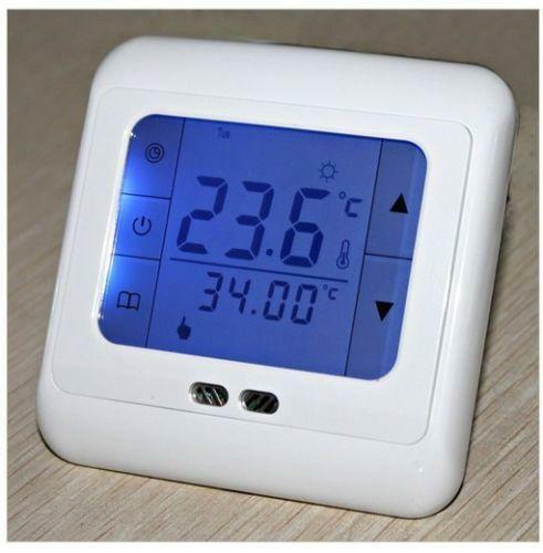 touch screen room thermostat ebay. Black Bedroom Furniture Sets. Home Design Ideas