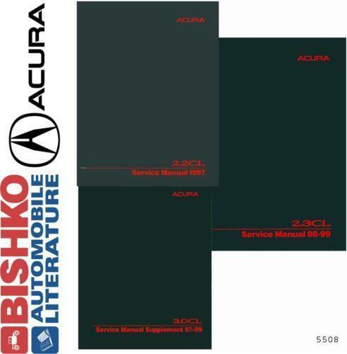 Acura CL Repair Manual