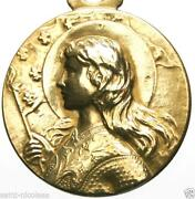 Joan of arc medal ebay joan of arc pendant aloadofball Gallery