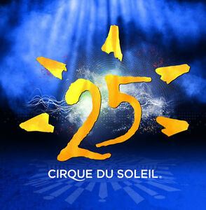 "Cirque Du Soleil -""25""-new/sealed 2 cd set"