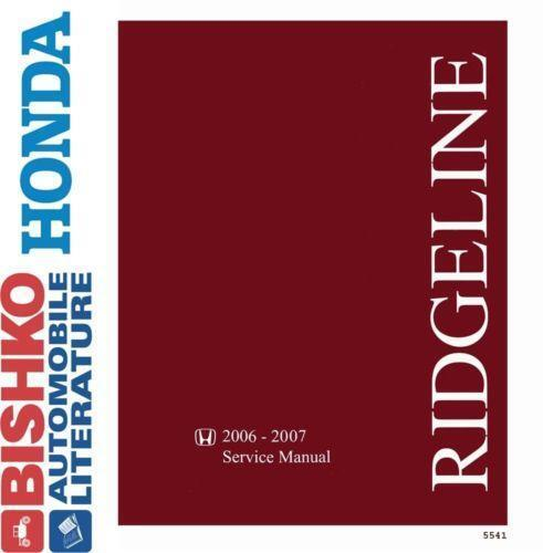 honda ridgeline repair manual ebay. Black Bedroom Furniture Sets. Home Design Ideas