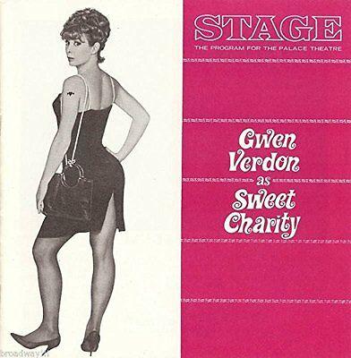 "Gwen Verdon ""SWEET CHARITY"" Cy Coleman / Bob Fosse / Ruth Buzzi 1966 Program"