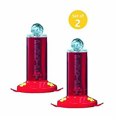 Perky-Pet 8 oz Window Mount Hummingbird Feeder (Set of (Perky Pet Window)