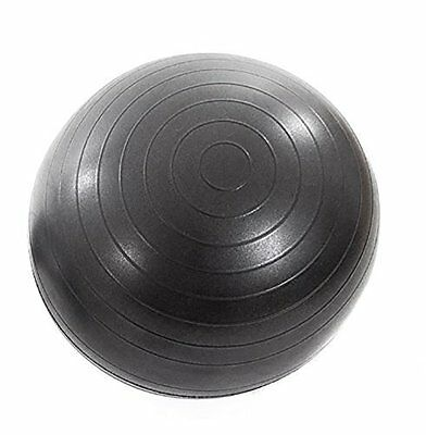 Inflatable Exercise Ball For Adult Ball Chair Latex Free - Black
