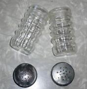 Metal Salt and Pepper Shakers