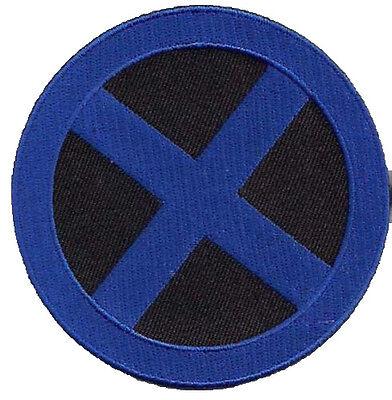 X-MEN Blue/Black Logo - blau schwarz Uniform Patch - X Men Uniform
