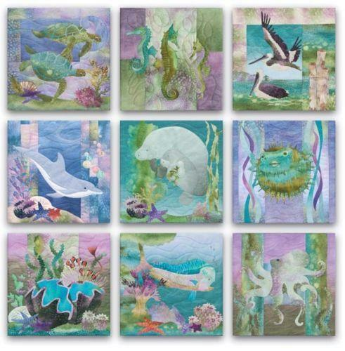 Sea Quilt Pattern Ebay