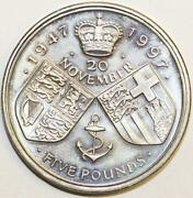 1997 Five Pound Coin