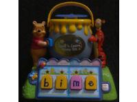 V-Tech Pooh & Tigger Bounce & Learn Honey Pot.