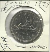 1977 Canadian Silver Dollar
