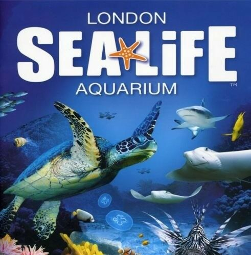 2 Sea Life London Aquarium Tickets For Saturday 29th December 2018