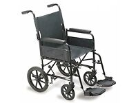 Cheap Wheelchair FREE DELIVERY Self Transit Carer Mobility Physio Recovery Hospital Residential