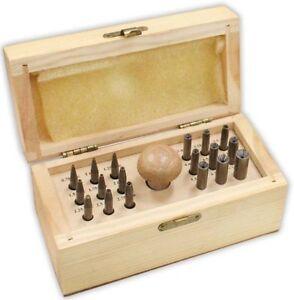 Jewellers Craft 18 Round Bezel Punch Set Stone Setting Ring Setting Jeweler Tool