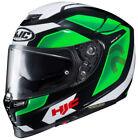 Green DOT Full Face Helmets