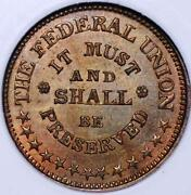 1861 Civil War Token