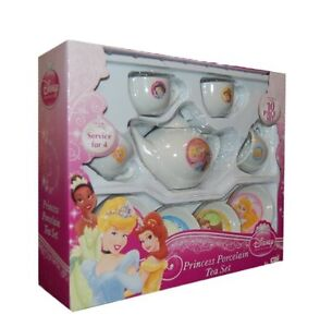 New Disney Princess Porcelain Tea Set - 10 Piece Set, Serves 4 - Free Shipping!