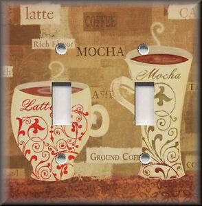 Http Www Ebay Com Itm Light Switch Plate Cover Cafe Coffee Latte Kitchen Home Decor 390632870005