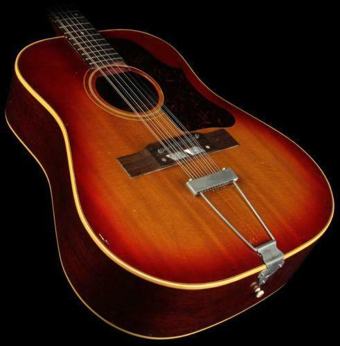 gibson sunburst acoustic guitar ebay. Black Bedroom Furniture Sets. Home Design Ideas