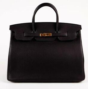 ed25a50c0275 Hermes Black Birkin Bag