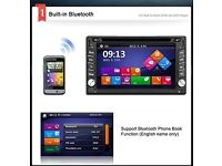 """6.2""""HD Touch Screen GPS Double Din Car Stereo Radio"""